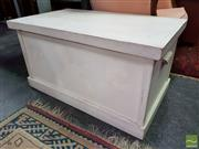 Sale 8480 - Lot 1053 - Painted Timber Box