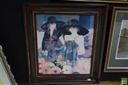 Sale 8592 - Lot 2047 - Framed Decorative Velasquez Print (62 x 56cm)
