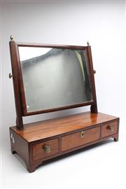 Sale 8729 - Lot 57 - Georgian Sheraton Dresser Mirror