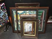 Sale 8754 - Lot 2038 - Collection of Frames and Prints