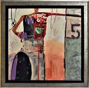 Sale 8778A - Lot 5045 - Sanford Wakeman - Free Rider 5 69 x 68cm (frame)