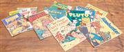 Sale 8984H - Lot 92 - A collection of early Childs comics from the 1950s including Manhunter, Blondie, The Phantom etc.