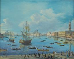 Sale 9199J - Lot 26 - Joseph Frost - Venice 40cm x 49cm
