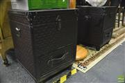 Sale 8347 - Lot 1031 - Pair of Suitcase Style Bedside Cabinets