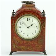Sale 8372 - Lot 64 - French Chinoiserie Themed Mantle Clock