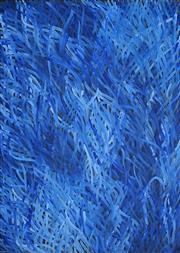 Sale 8786 - Lot 566 - Barbara Weir (c1945 - ) - Medicine Leaves 120 x 90cm
