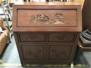 Sale 8817 - Lot 1098 - Chinese Drop Front Bureau