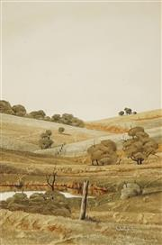 Sale 8847A - Lot 5015 - Michael Taylor (1939-) - Country NSW, 1978 30 x 19.5cm