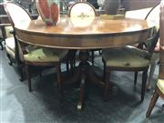 Sale 8868 - Lot 1191 - Timber Round Top Supper Table