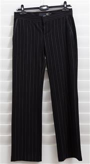 Sale 8902H - Lot 125 - A pair of Roberto Cavalli, Just Cavalli pinstripe woollen pants, size 40
