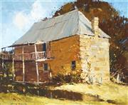 Sale 9013 - Lot 509 - Colin Parker (1941 - ) - Old Stone Building, Wheeny Creek 44 x 54 cm (frame: 62 x 72 x 4 cm)