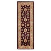 Sale 9020C - Lot 6 - Afghan Revival Hezari Runner, 85x240cm, Handspun Ghazni Wool
