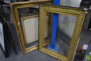 Sale 8530 - Lot 2102 - Two Gilt Picture Frames