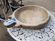 Sale 8601 - Lot 1234 - Marble Bowl Form Bird Bath