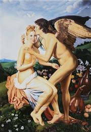 Sale 8822A - Lot 5089 - Anthony Christian - Psyche and Her Beau 39.5 x 28cm