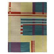 Sale 8870C - Lot 96 - Revival Scandinavian Deco Flatweave Carpet in Handspun Wool, 310x240cm