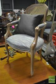 Sale 8347 - Lot 1095 - Rattan Back Chair
