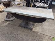 Sale 8601 - Lot 1236 - Industrial Side Table
