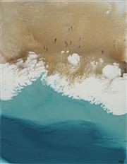 Sale 8738 - Lot 518 - Cheryl Cusick - Surf 122x 91cm