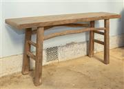 Sale 8745A - Lot 69 - A console table, H 83 x W 178 x D 42.5cm