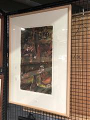 Sale 8789 - Lot 2113 - M. Nicholls - Spanish Senorita, Mixed Media, details Verso, 50.5x27.5cm