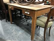 Sale 8834 - Lot 1019 - Vintage Two Drawer School Desk