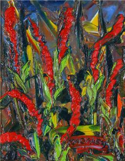 Sale 8972A - Lot 5037 - Evan Mackley (1940 - 2019) - Fingers 24 x 19 cm