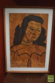 Sale 8310 - Lot 1023 - R. Benson (XX) - After Tretchikoff, 1965 60 x 40cm