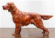 Sale 8590A - Lot 30 - A Royal Doulton red setter ceramic figure HN1054, L 32cm