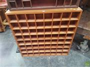 Sale 8648C - Lot 1056 - Timber Medicine Wall Hanging Shelves