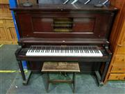 Sale 8657 - Lot 1008 - Gudbransen Ex Player Piano with Original Frame Built By C. Winkworth and Sons, Annandale