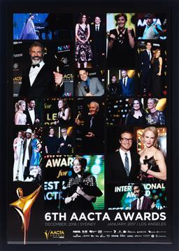 Sale 9130S - Lot 94 - 6th AACTA Awards December 2016 Frame Size 106cm x 75cm