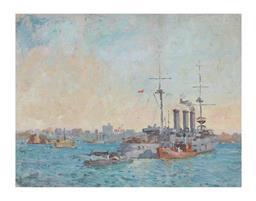 Sale 9245J - Lot 26 - Charles Bryant - Sydney Harbour