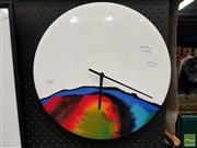 Sale 8474 - Lot 2060 - J. Keeo Ceramic Clock