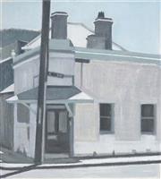 Sale 8492 - Lot 504 - Hendrik Cornelis Kolenberg (1946 - ) - Newtown Corner, 1996 60.5 x 54.5cm