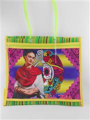 Sale 8514H - Lot 22 - Frida Kahlo Tote Bag w zip pocket & long handle