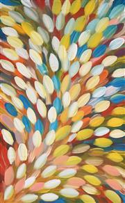 Sale 8624 - Lot 520 - Gloria Petyarre (c1945 - ) - Bush Medicine Leaves 145 x 90cm