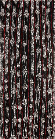 Sale 8733A - Lot 5038 - Sabrina Nangala Robertson (1976 - ) - Water Dreaming 125.5 x 50.5cm (stretched and ready to hang)