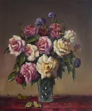 Sale 9084 - Lot 589 - Dudley Drew (1924 - 2015) - Still Life 60 x 50 cm (frame: 73 x 63 x 4 cm)