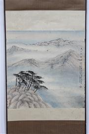 Sale 8384A - Lot 45 - Chinese Landscape Scroll