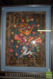 Sale 8497 - Lot 2078 - Latin American Style Painting, 76.5 x 59cm