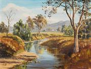 Sale 8604 - Lot 2053 - Vera Spicer (1926 - ) - Bell River, Wellington 43.5 x 60cm
