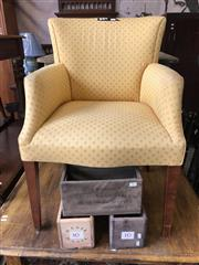 Sale 8868 - Lot 1516 - Upholstered Carver Chair