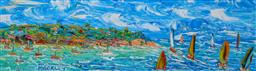 Sale 8972A - Lot 5048 - Evan Mackley (1940 - 2019) - Heading for Open Water 15 x 50 cm
