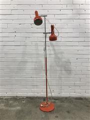 Sale 9056 - Lot 1048 - Oslo Twin Shade Floor Lamp (h:175cm)