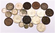Sale 9078 - Lot 91 - A Collection Of Coins Incl Round 50c Pieces