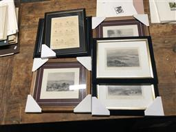 Sale 9147 - Lot 2053 - Group of (4) Engravings incl. J.S Prout together with (2) Punch Magazine c1920s Cartoon Publications