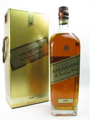Sale 8290 - Lot 460 - 1x Johnnie Walker Gold Label - The Centenary Blend 18YO Blended Scotch Whisky - 1750ml in box