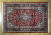 Sale 8372C - Lot 42 - A Persian Kashan, 340 x 265cm