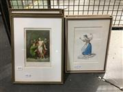 Sale 8752 - Lot 2090 - 8 Framed Prints incl Religious